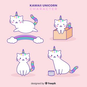 Gatos kawaii